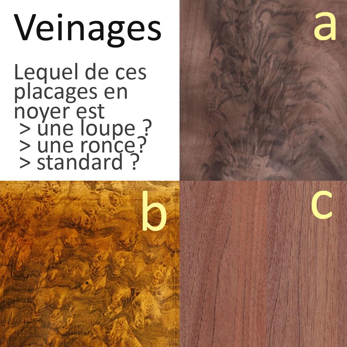 Quiz veinages du bois loupe ? ronce ? Ecoute le Bois # Reconnaitre Les Essences De Bois